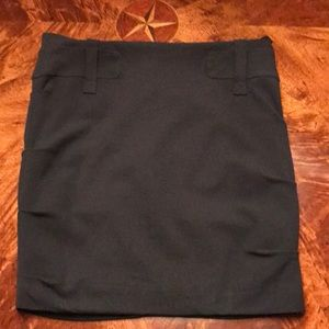 NICOLE MILLER COLLECTION RUCHED SKIRT